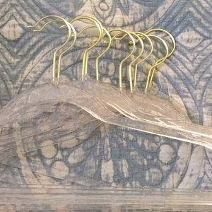 3/$15 10 gold speckled hangers